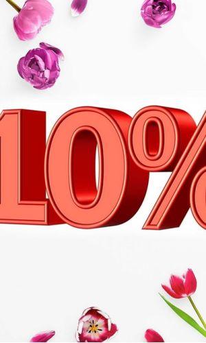 Акция ! Скидка 10% на новую коллекцию при своевременной оплате